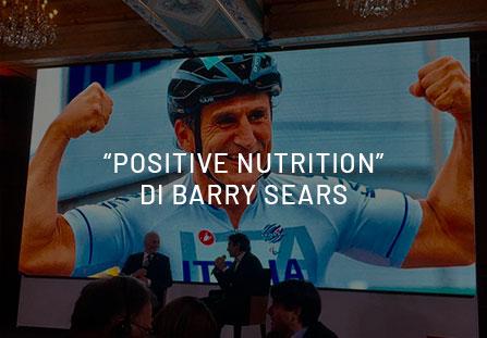 """Barry Sears dimostra che la """"Positive Nutrition"""" allena le cellule a vivere meglio e più a lungo."""