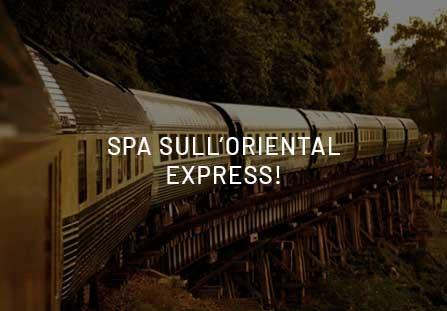 Spa sul treno? Prova il benessere sull'Oriental Express!