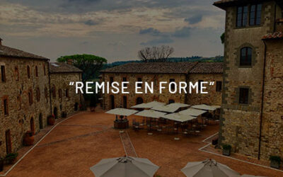 """Remise en forme"" precious in an ancient medieval Tuscan village."