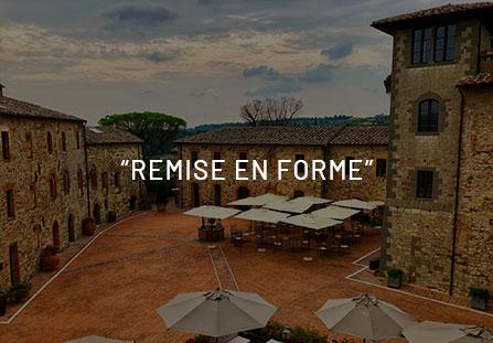 """""""Remise en forme"""" preziosa in un antico borgo Toscano."""